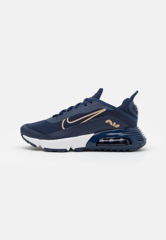 AIR MAX 2090 - Sneakers laag - midnight navy/metallic red bronze/midnight navy