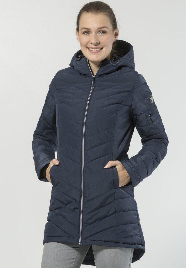 PASCAGOULA - Winter coat - dark blue mottled