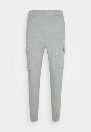 CLUB PANT  - Tracksuit bottoms - grey heather/matte silver/white
