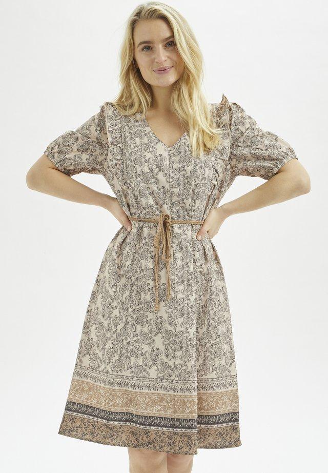 Robe d'été - grey paisley mix