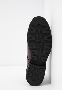 Bianco - BIACASS CHUNKY LACED UP DERBY - Lace-ups - winered - 6
