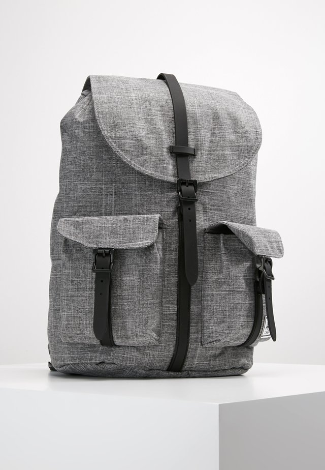 DAWSON - Sac à dos - raven crosshatch/black