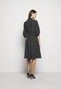 Lauren Ralph Lauren - Denní šaty - polo black/white - 2