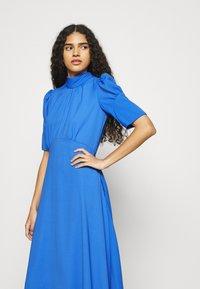 Closet - TIE BACK A LINE DRESS - Kjole - blue - 3