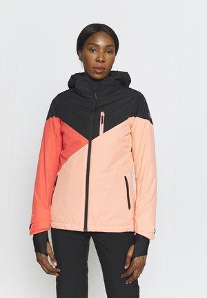 SHEERWATER WOMEN SNOWJACKET - Snowboard jacket - sienna