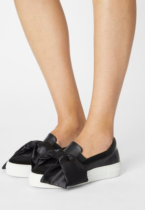 SLIP ON BOW - Trainers - black