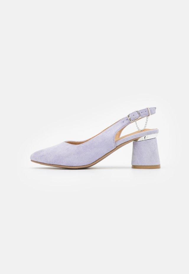 WIDE FIT TADLEY - Klassieke pumps - lilac