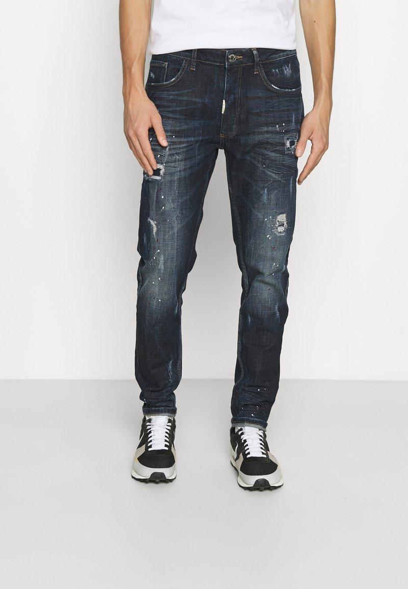 Alessandro Zavetti - LABELLI - Straight leg jeans - indigo
