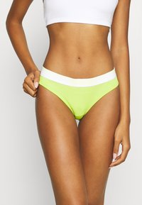 Diesel - STARS 3 PACK - Thong - green/lilac/lemon - 1