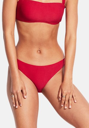 CAPRI SEA HIPSTER - Bikini bottoms - ruby