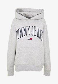 Tommy Jeans - CLASSICS LOGO HOODIE - Hoodie - grey - 3