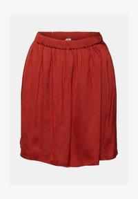 edc by Esprit - A-line skirt - terracotta - 9
