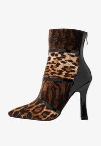 BEBO - LAVETA - High heeled ankle boots - black - 1