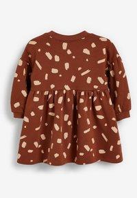 Next - BALLOON SLEEVE - Day dress - brown - 1