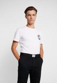 Obey Clothing - BIG BOY WEB BELT - Pásek - black - 1
