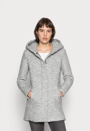 Classic coat - light grey melange