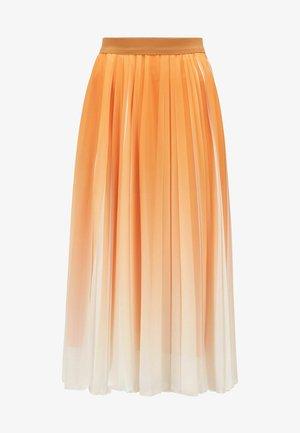 VASPARKY - Pleated skirt - open yellow