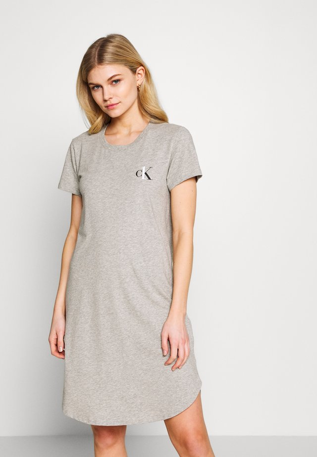ONE LOUNGE NIGHTSHIRT - Yöpaita - grey heather