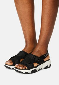 Skechers Sport - DADDY - Sandals - black - 0