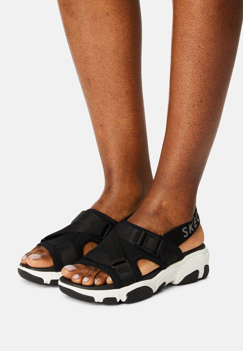 Skechers Sport - DADDY - Sandals - black