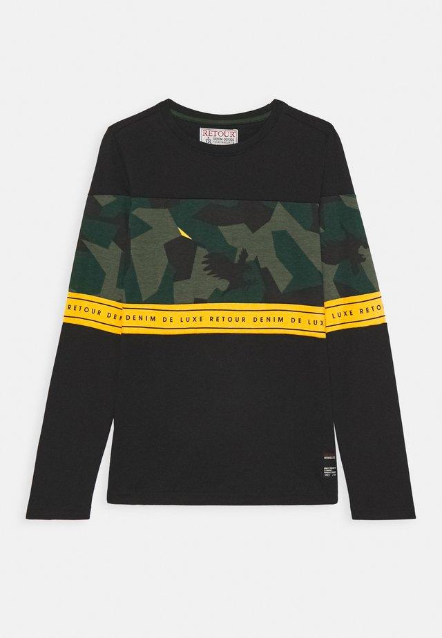 JORN - Long sleeved top - black