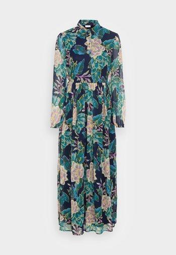 VIERICA ANKLE DRESS - Skjortklänning - maritime blue