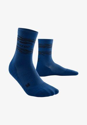 ANIMAL COMPRESSION MID CUT SOCKS - Sports socks - dark blue/black