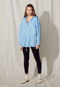 sandro - Summer jacket - bleu ciel - 0