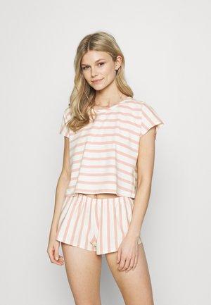 Pijama - rose/white