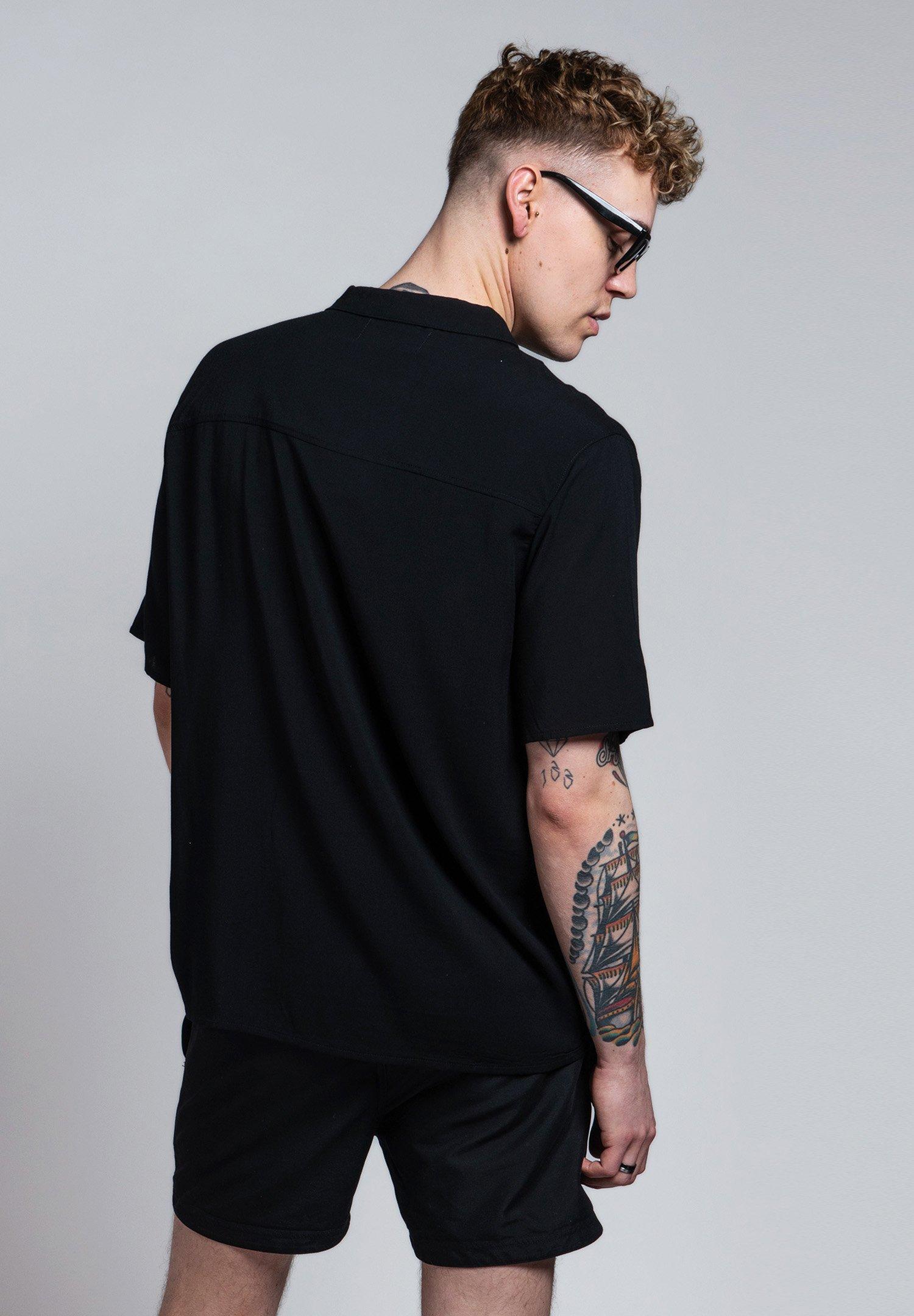 On Vacation Camicia - noir - Abbigliamento da uomo Esclusivo
