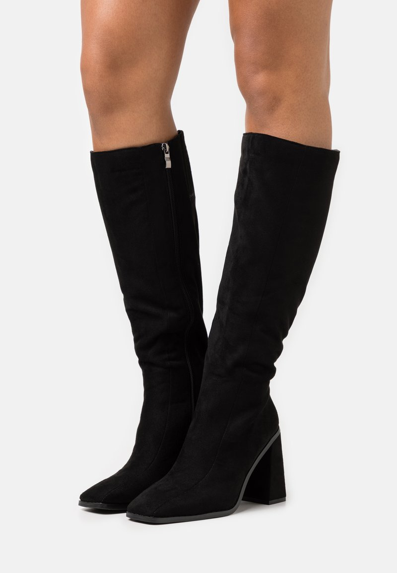 Koi Footwear - VEGAN - High heeled boots - black