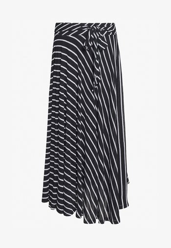 LONG SKIRT - Maxi skirt - black