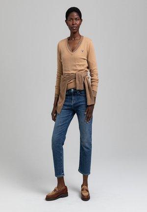 Jumper - warm khaki