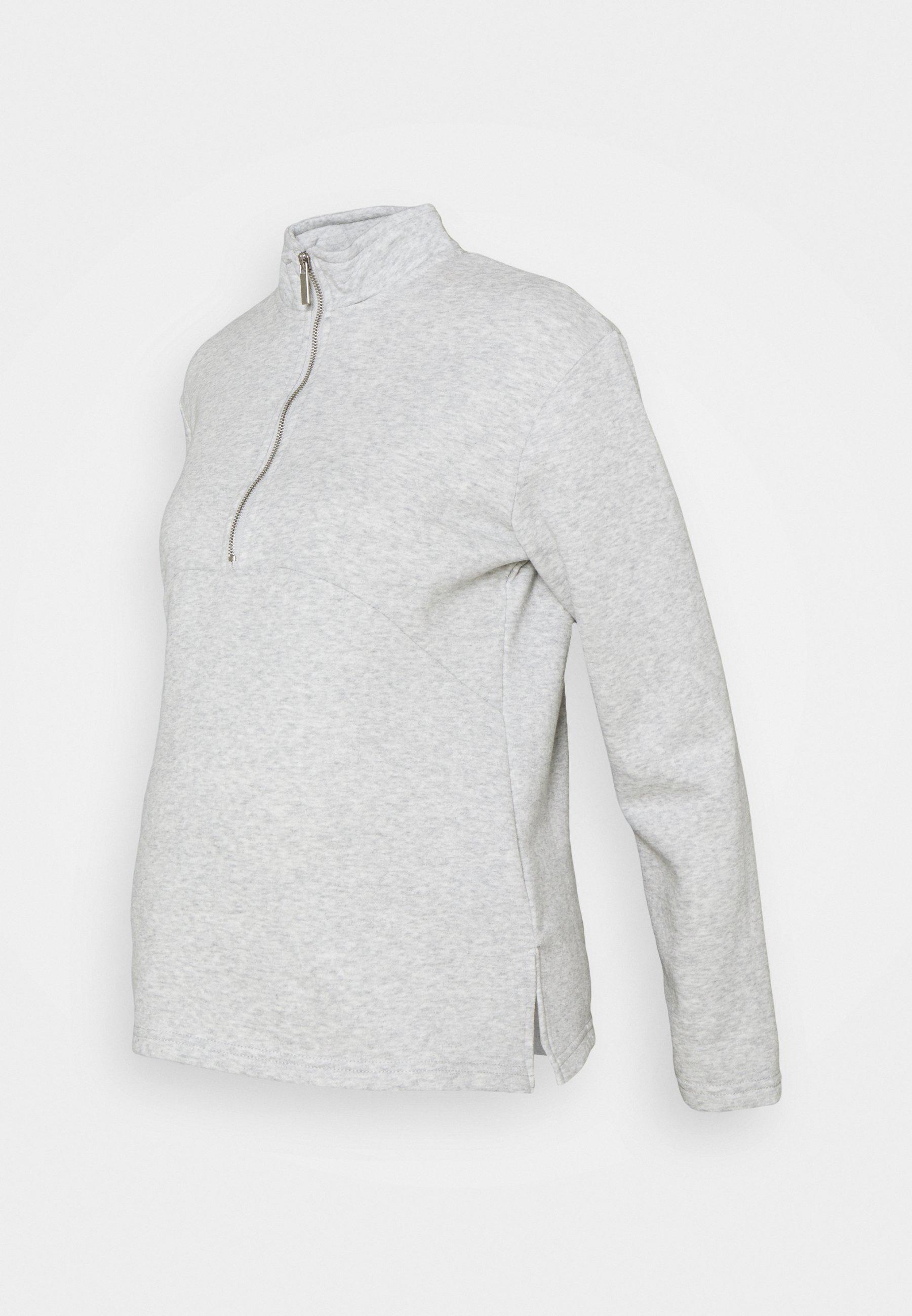 Women MATERNITY ZIP FRONT - Sweatshirt