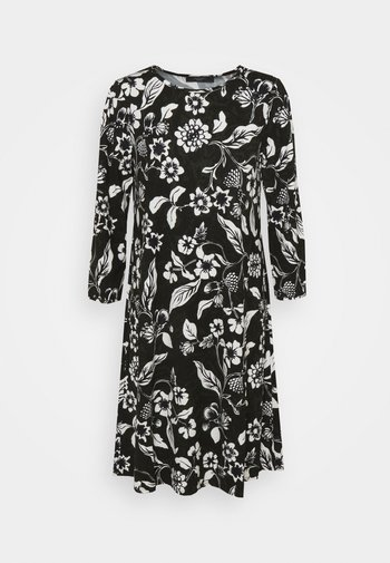 NOVELI - Jersey dress - khaki