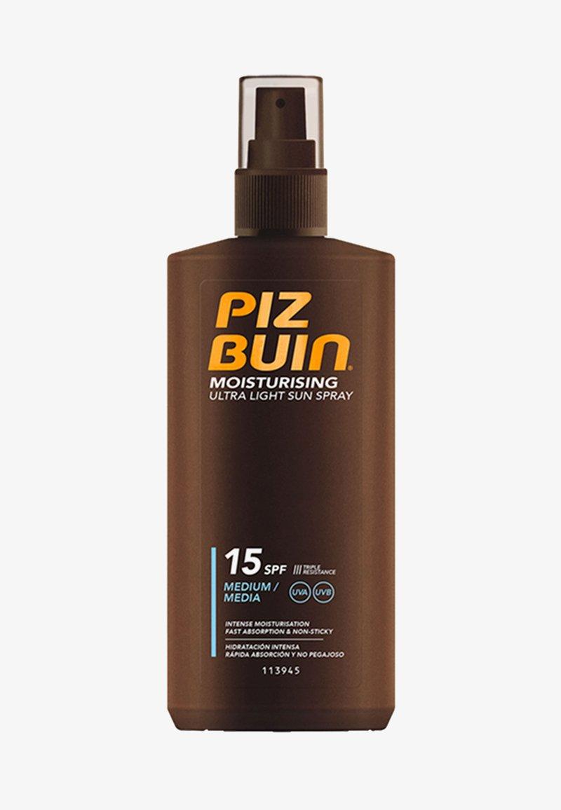 Piz Buin - SONNENSCHUTZ MOISTURISING ULTRA LIGHT SUN SPRAY LSF 15 - Sun protection - -