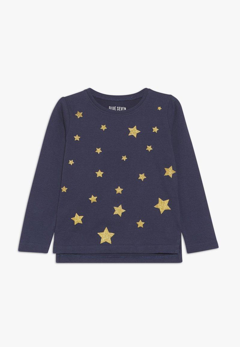 Blue Seven - LONGSLEEVE STAR - Pitkähihainen paita - dunkelblau orig