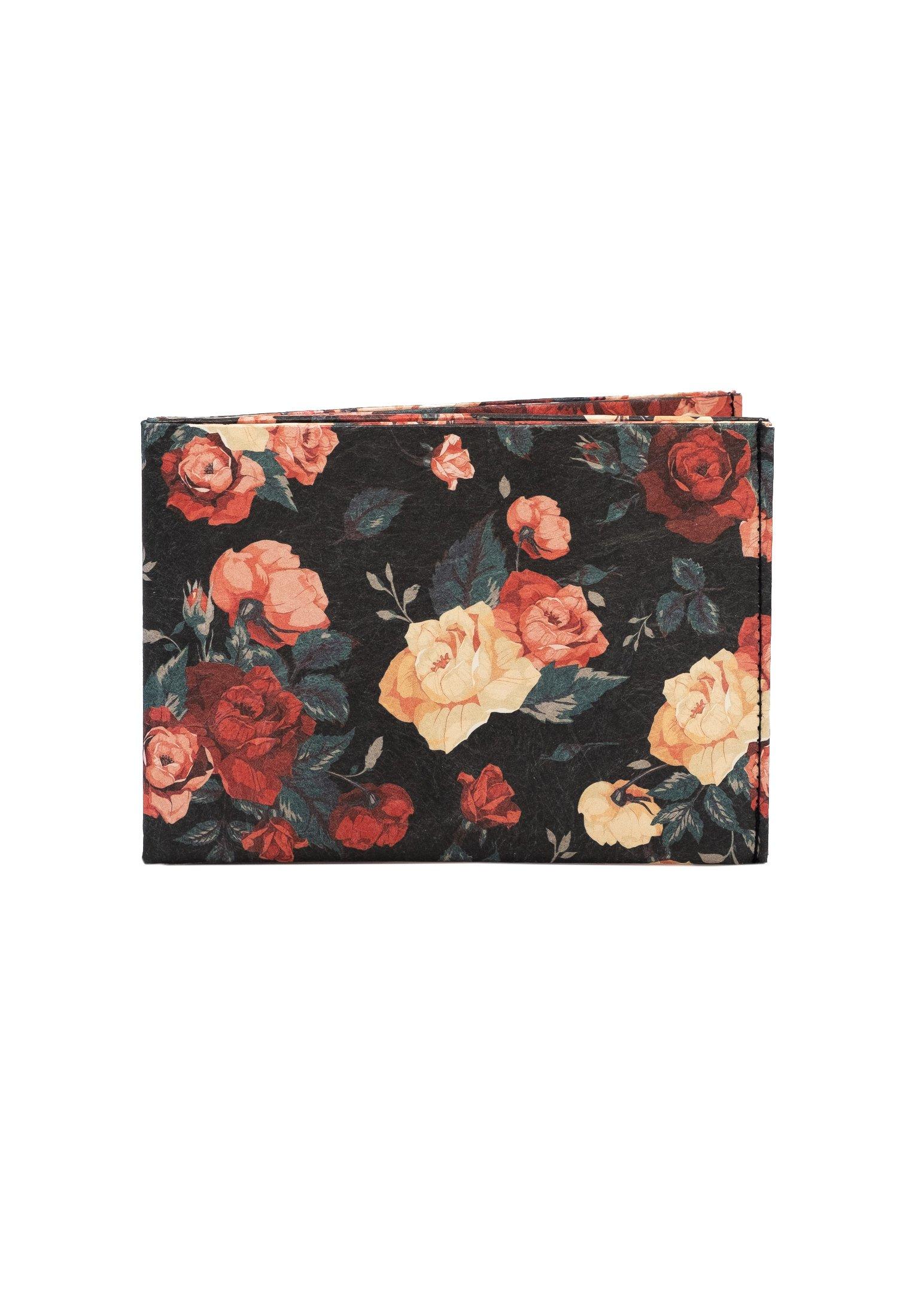 Damen RFID FLOWERS - Geldbörse