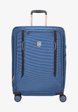 WERKS  - Wheeled suitcase - blue