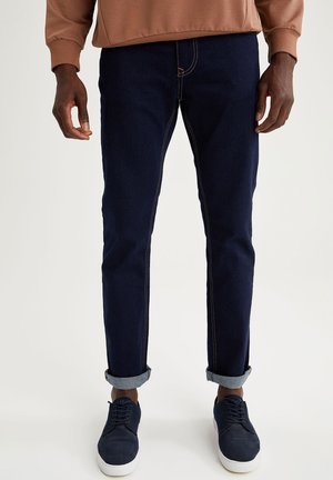 Relaxed fit jeans - navy