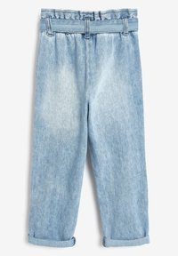 Next - PAPERBAG  - Straight leg jeans - light-blue denim - 3