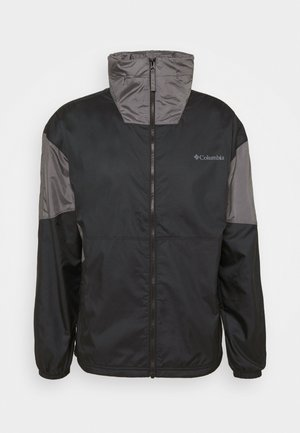 POINT PARK™ LINED - Outdoor jacket - black/city grey