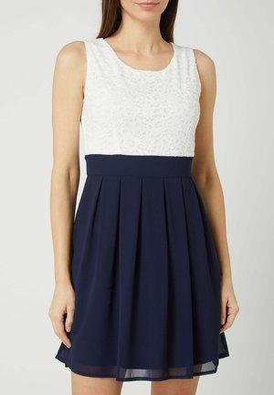 FLORALER SPITZE  - Day dress - marineblau