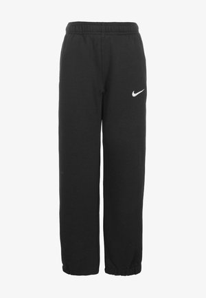 TEAM CLUB CUFFED  - Tracksuit bottoms - black /football white