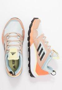 adidas Performance - TERREX AGRAVIC TR UB - Zapatillas de trail running - dash green/core black/pale nude - 1