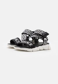 Versace - Sandals - black/white - 1