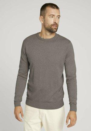 Sweater - light wood taupe melange