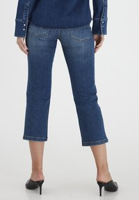 Dranella - DRLULU 1 TRACY JEANS - PATCHED JEANS - Slim fit jeans - mid blue denim - 2