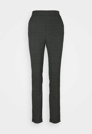 VMMAYA ALEC CHECK PANT - Trousers - dark grey melange/black