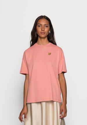 Basic T-shirt - warm rose